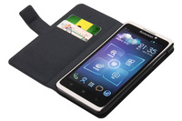 High quality Genuine skin PU leather case protective cover for lenovo S890 smartphone