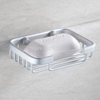 Free Shipping Soap Holder Space Aluminum Soap Box Bathroom Accessories Fashionable Design