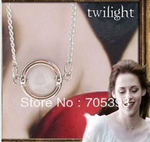 Hot Movie Twilight Movie Jewelry Bella's Moon Stone Necklace(China (Mainland))