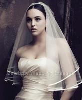 1.5 meters wedding boutique  satin edge  cloth edging 1.5 bride's veil