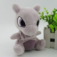 "GENUINE Japanese Pokemon Center Mewtwo Stuffed plush toy 6""NEW"