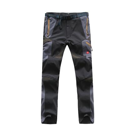 nuevo 2014 al aire libre escalada de senderismo de sudor pantalones de secado rápido y joggers deporte pantalones de los hombres nuevo estéreo recorte de los hombres pantalones casuales