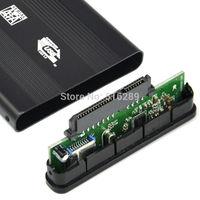 New arrival Hot saleUSB 3.0 Sata 2.5 Hard Disk Drive HDD External Enclosure Aluminum Case Caddy Box FreeShipping & Wholesales