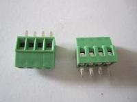 2.54mm 4Pins  24PINS PCB Screw Terminal Block Connectors 300V 10A