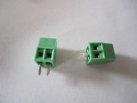 2.54mm 2Pins  2 PINS PCB Screw Terminal Block Connectors 300V 10A