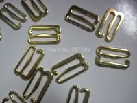 "500Pcs/Lot Golden ""E"" Hook Bra Clips 20mm CPAM free shipping"