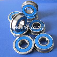 "10 PCS SFR8-2RS Flange Bearings 1/2""x 1 1/8""x 5/16'' Stainless Steel Flanged Ball Bearings(China (Mainland))"