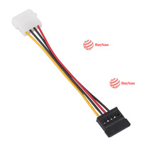 BuyNao IDE to Serial ATA SATA HDD Power Adapter Cable High Quality