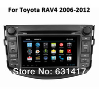 "7"" 2Din Car DVD GPS Player Stereo for Toyota RAV4(2006 - 2012) with WiFi/3G Ipod Radio Bluetooth TV RDS"