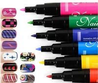 12pcs/lot nail art painting pen brushes