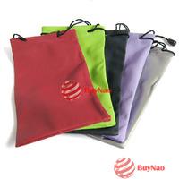 BuyNao 1PCS 2PCS 3PCS 4PCS Sunglasses Glasses Soft Cloth Dust Pouch Carry Bag for Your Choice High Quality