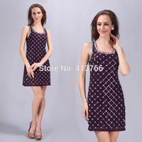 plaid casual dress, new 2015 summer dress,party dresses,summer dresses