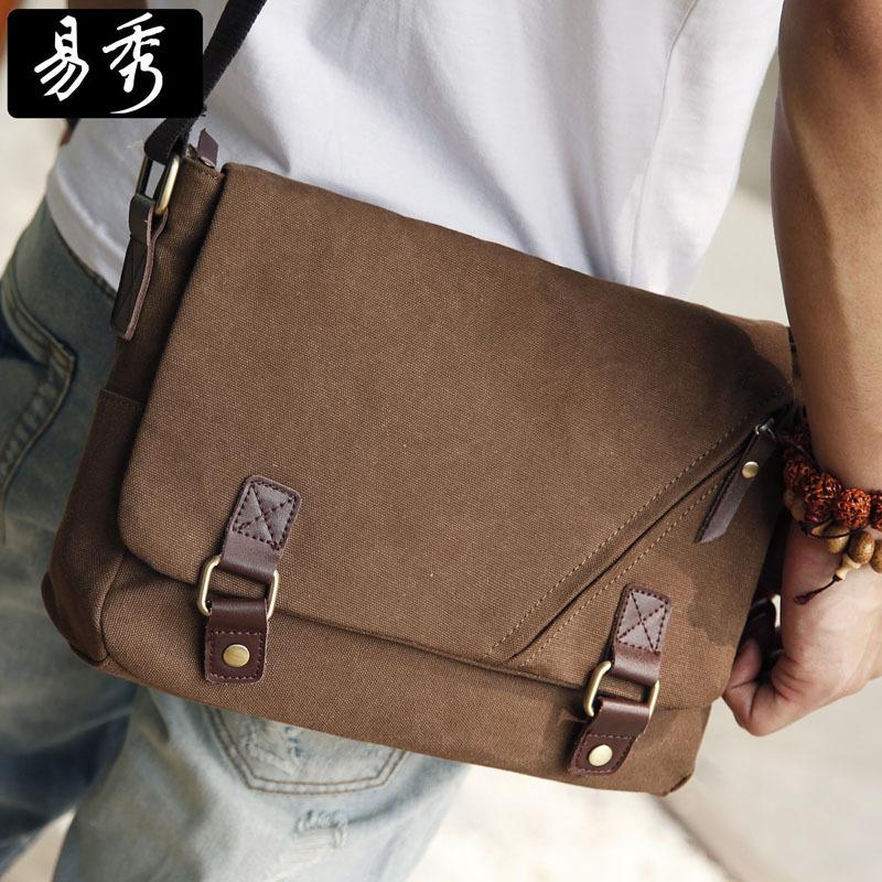 2014 NewEshow Canvas laptop bags for men messenger bags for school men shoulder bags BFK010831(China (Mainland))