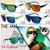 Free DHL ! 2014 brand Dragon the jam Man Sunglasses Fashion vintage sports eye glasses Men Women cycling Sun glasses 100pcs /lot