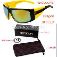 2014 New brand Dragon shield Sunglasses Fashion Sport Sun Glasses Women Men Eyewear Eye glasses 50pcs/lot wholesale + Retail Box