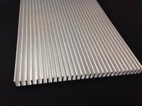 High Power LED Heatsink Grille shape 130mm*9.5mm Good heat dissipation aluminum
