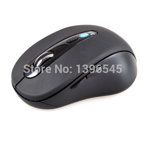 Wireless Mini Bluetooth Optical Mouse Black 1000 DPI for PC Android 3.1+ Tablet Black(China (Mainland))
