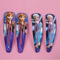 Cool frozen hairpin for girl  BB clamp clip girls princess hair clip Snow Queen Anna princess headwear SP13