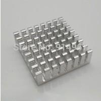 Free ship,NEW High Conductivity Aluminium Heatsink Cooler 27*28*8mm For Motherboard DDR VGA RAM Memory IC Chipset