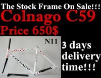 2014 new model  carbon road bike frame in stock all hight quality Colnago c59  free shipping racing bike frame seatpost