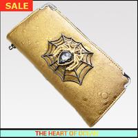 Fashion Pu Leather Women Wallet Net Crystal Lady Purse Vintage Ostrich Long Brand Wallet handbag Casual Clutch B265