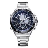 2014 WEIDE  LCD Dual Time Display Multifunctional Alarm Diver 30M Waterproof LED Watch Men Relogio Sport  Reloj military watch