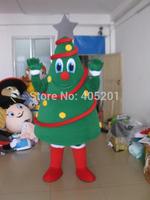 Christmas tree mascot costume free shipping