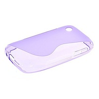 S-line Flexible Soft Gel Tpu Silicone Skin Slim Back Case Cover For LG L40