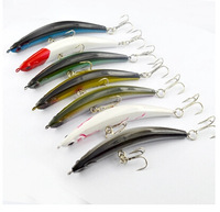 Free Shipping !! 7 pcs/lot OEM Fishing Lures Bent Minnow  Lures Fishing Tackle 120MM10G Hard Plastic Lure Sets Wholesale