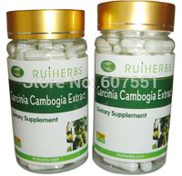 1bottles PURE Garcinia Cambogia Extract 60% HCA 500mg x 90caps free shipping