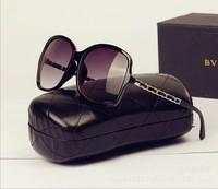 oculos De sol women luxury sunglasses 2014 new brand designer classic C Leopard  sunglass women men sun glass frame Brown Lens