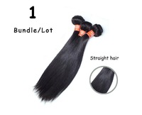 "Queen Brazilian Virgin Hair Straight 1Pcs/Lot Shedding Free And Tangle Free 8""-30"" Available"