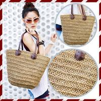 2014 plants straw bag beach bag innumeracy woven bag eco-friendly bags