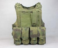 free shipping Molle Combat Strike Plate Carrier Vest steel wire vest (A-tacs FG) tactical vest ciras vest ver5 tactical