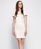 S-XXL Elegant Work Dress Women Lady Slim Casual Dress Office Career Dress 2014 New Fashion Summer Autumn C9ML132