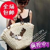 2014 straw bag  women's handbag beach bag