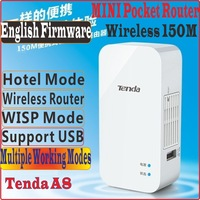 [Eng-Firmware] Tenda A8 Mini Router Pocket WiFi Wireless-N AP Router Client Universal Repeater WISP 150Mbps, Free Shipping,PROM5