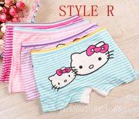 2pcs/lot  2014 new fashion children panties girls' briefs female child underwear lovely cartoon panties children clothing