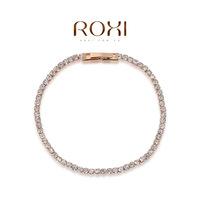 Roxi jewelry austria crystal rose gold  single row bracelet   2060021310A