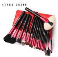 2014 Cerro Qreen Brand Goat Hair Mr Bunny, Make Me Crazy, Make Me Blush, make me cool Makeup Brush Set 18 Pcs Free Shipping