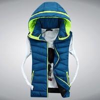 CD-39 2014 Autumn winter lover women and men vest waistcoat down jacket winter ladies vest sleeveless jacket fashion outdoor