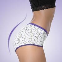 2014 Fashion women panties good quality cotton women briefs high waist  ladies' underwear