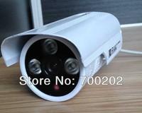 free shiping HD CCTV CAMERA 1000TVL Outdoor waterproof infrared night vision angle monitoring 1/3``CMOS 3.6MM LENS