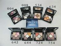 1pcs/lot New Brand Makeup Cosmetics Eyeshadow 5 COULEURS IRIDESCENT EYE SHADOW PALETTE FARDS A PAUPIERES LUMIERES VIBRANTES