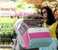 Free Shipping Hot Sale Mommy Bag Baby Diaper Bag Made of Microfiber 5 Colors bolsa maternidade bolsa de bebe