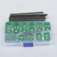 55PCS SO/SOP/SSOP/TSSOP/SOIC/MSOP 8 14 16 20 24 28 to DIP PCB Board Converter FX
