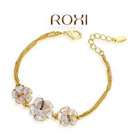Roxi fashion jewelry austria crystal 18k bracelet quality bracelet   2060039525B