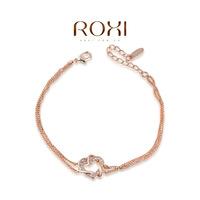Roxi jewelry austria crystal rose gold dcrv spirally-wound bracelet   2060012355A