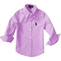 100% cotton shirt male chromophous child long-sleeve shirt 100% cotton baby long-sleeve shirt comfortable