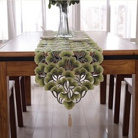 NEW STYLE  Corredor da tabela do bordado 40x220cm azarin embroidery table runner wedding hotel home NO.575-B FREE SHIPPING